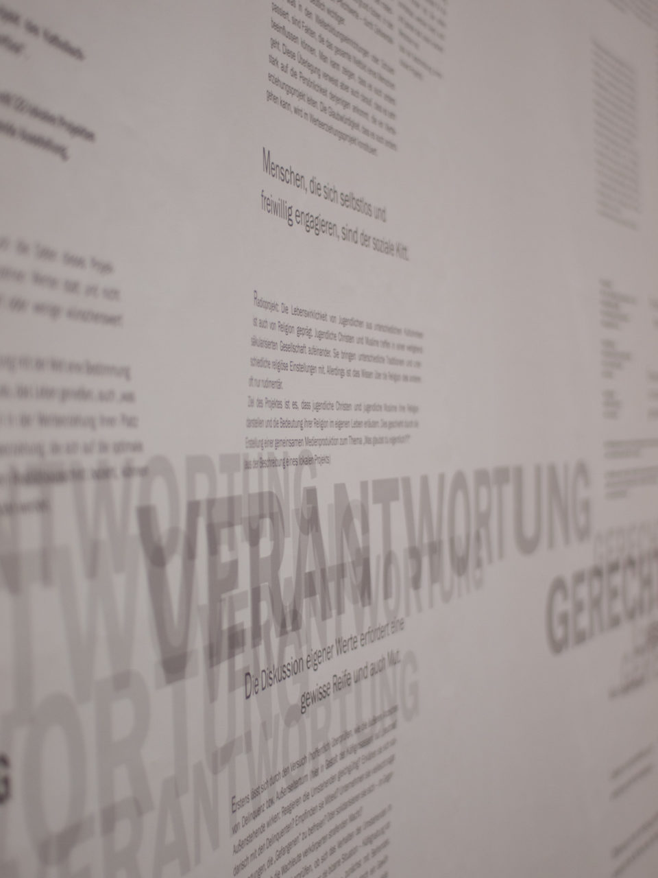 Werte-Ausstellung